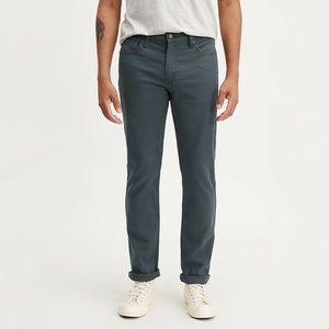 Levi's 511 men's jeans 32*34 grayish blue color